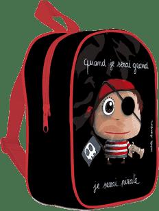LABEL TOUR Mały plecak Pirat