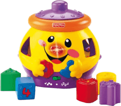 FISHER-PRICE Laugh & Learn Garnuszek na klocuszek