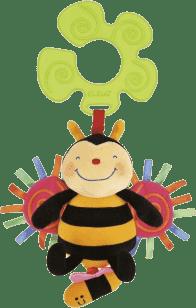 K´S KIDS Hračka na kočík - naťahovacie bzučiaci včielka v displeji
