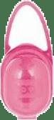LOVI Puzdro na cumlík - ružová