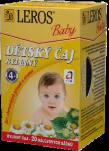 LEROS BABY detský čaj bylinkový 20x1,8g