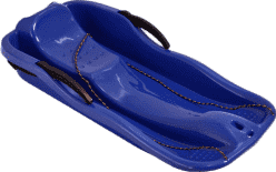 MAC TOYS Sanki z hamulcami, 87 cm, niebieskie