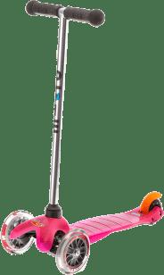 MICRO Mini kolobežka, ružová