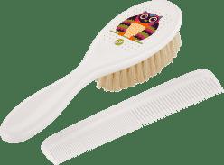 ROTHO® Comb & Brush - Hrebienok s kefou na vlásky Oops