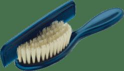 ROTHO® Comb & Brush - Hrebienok s kefou na vlásky Blue Pearl