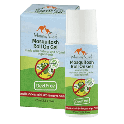 MOMMY CARE Summer and Sun Mosquitoes Roll on Gel - Prírodné repelent s roll-on aplikátorom 70 ml