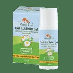 MOMMY CARE Summer and Sun Cooling Itch Relief gél - Prírodné a ekologický upokojujúci gél 70 ml