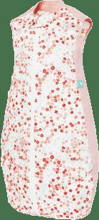 ERGOPOUCH Organic/Bamboo – Śpiwór Organic Cotton Pink Flower 2-12 mies.