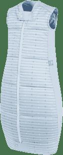 ERGOPOUCH Organic Cotton - Spací pytel Blue Stars&Stripes 2-12 m