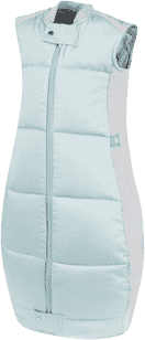ERGOPOUCH Organic Cotton - Spací pytel Mint 2-12m