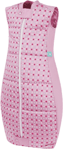 ERGOPOUCH Organic Cotton - Spací vak Pink Polka Dots 2-12 m