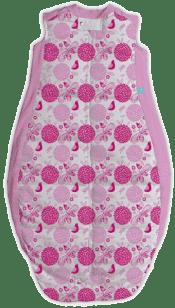 ERGOPOUCH Organic Cotton - Śpiwór Sweet garden Pink 2-12m