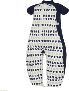 ERGOPOUCH Sleep suit Bag - Spací vak Navy Paint 3-6 let