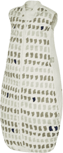 ERGOPOUCH Organic Cotton&Bamboo - Śpiwór Grey Paint 2-12m