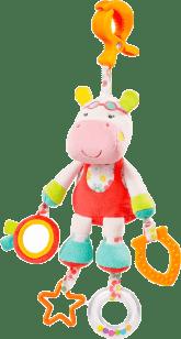 NUK Pool Party Zabawka z klipsem – Hipopotam