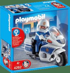 PLAYMOBIL Hliadka na motorke