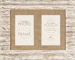 FOTORÁMIK Driftwood pre 2 fotografie 10x15 cm