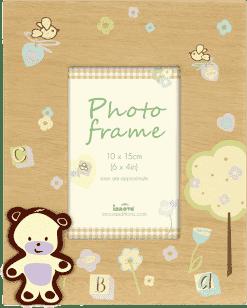 FOTORAMKA drewniany Natural Baby na 1 fotografię 10 x 15 cm