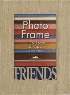 FOTORÁMEČEK s nápisem Friends pro fotografii 10x15 cm