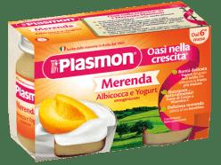 PLASMON Jogurt Meruňkový 2x120g