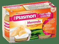 PLASMON Jogurt Banánový 2x120g