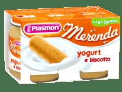 PLASMON Jogurt a sušenky 2x120g