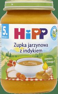 HIPP Zupka jarzynowa z indykiem BIO (190 g)