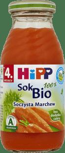 HIPP Sok Soczysta Marchew BIO (200g)