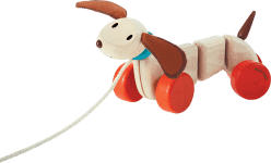 PLAN TOYS Šťastné šteňa