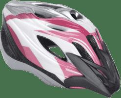 PUKY Prilba M/L, ružová/biela