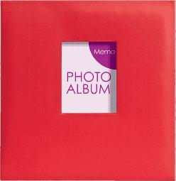 FOTOALBUM červené Festival pro 200 fotografií 10x15 cm