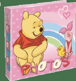 FOTOALBUM Winnie the Pooh 200 fotografií (10x15cm) – ružový