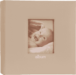 FOTOALBUM ružový Love Baby s popisom pre 200 fotografií 10x15 cm