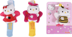 SIMBA Hello Kitty Grzechotka na rączkę, 3 rodzaje