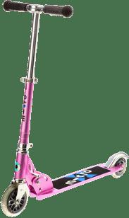 MICRO Light kolobežka, ružová