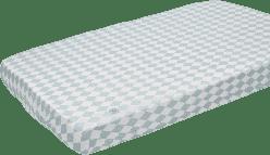 LODGER Prostěradlo Slumber Cotton do kolébky 40x80cm – Silvercreek