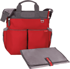 SKIP HOP Torba Duo Signature red