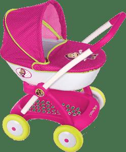 SMOBY Głęboki wózek dla lalek Masza i Niedźwiedź