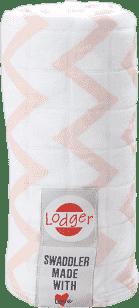 LODGER Multifunkční osuška Swaddler Cotton – Nude
