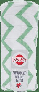 LODGER Multifunkční osuška Swaddler Cotton – Anise