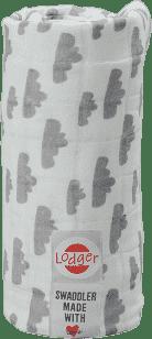 LODGER Multifunkčný osuška Swaddler Cotton - Grey
