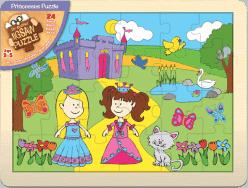 FIESTA CRAFTS Veľké puzzle - Princezné