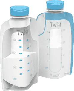 KIINDE Twist – Váčky na mateřské mléko 40ks 8pr