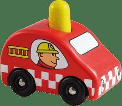 VILAC Dřevěné pískající hasičské auto
