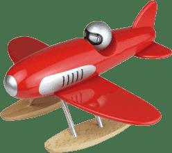 VILAC Drevená hračka - Drevené dizajnové lietadlo - Hydroplán