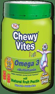 CHEWY VITESChew Vites Omega 3, 30 ks