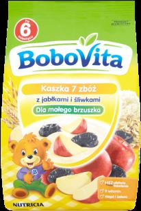 BOBOVITA Kaszka 7 zbóż z jabłkami i śliwkami (180g)
