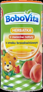 BOBOVITA Herbatka o smaku brzoskwiniowym (200g)