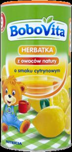 BOBOVITA Herbatka o smaku cytrynowym (200g)