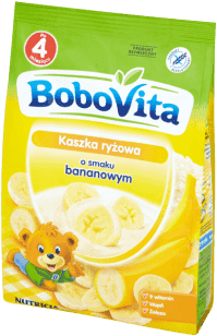BOBOVITA Kaszka ryżowa o smaku bananowym (180g)